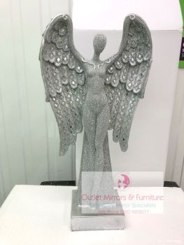 # Standing Sparkle Angel 60cm x 31cm x 13cm in stock for immediate delivery