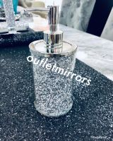 """ New Diamond Crush Mirrored Soap Dispenser item in stock"