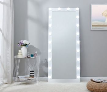 Hollywood Mirror in White 170cm x 70cm