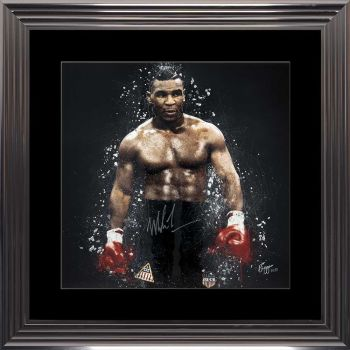 limited Edition Signed Mike Tyson Ring Wall art 90cm x 90cm