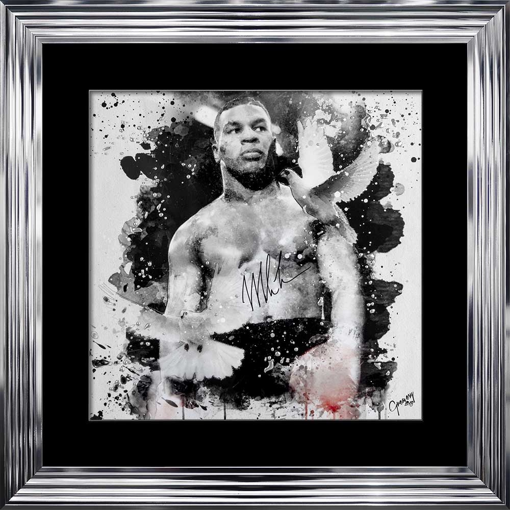 limited Edition Signed Mike Pose Wall art 90cm x 90cm
