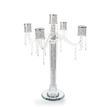 * Diamond Crush Sparkle Candelabra 5A item in stock