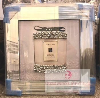 "Mirror framed art print ""Jo Malone White"" in stock"