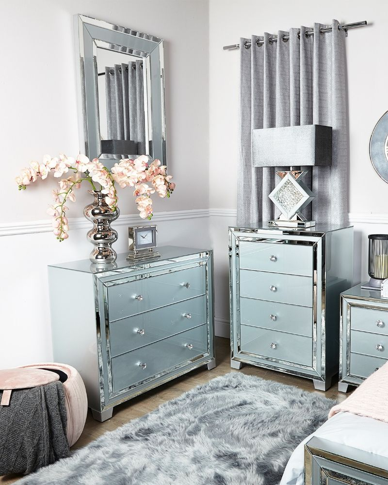* Zeus Grey Bedroom Furniture
