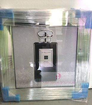 "Mirror framed art print ""Jo Malone Black 2"" item in stock"