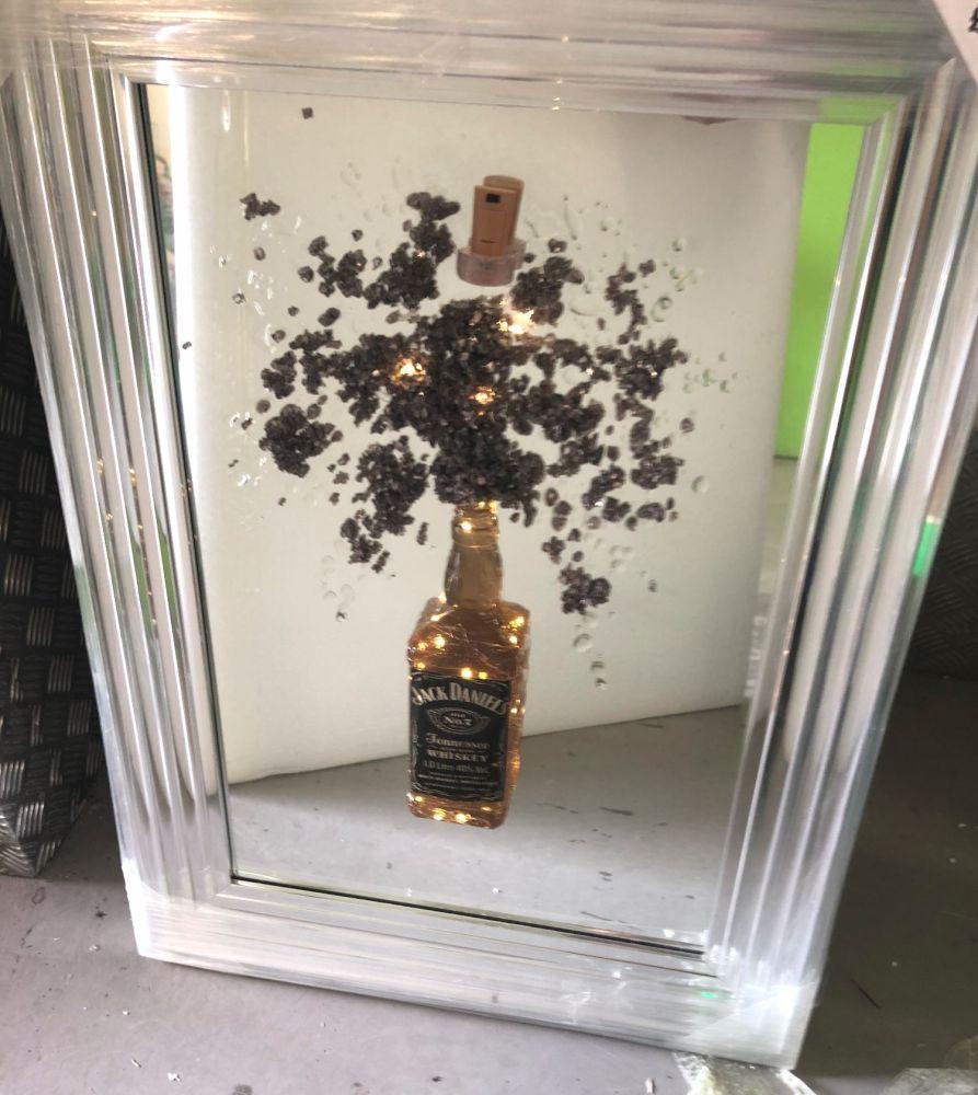 Light Up Jack Daniels Wall Art item in stock