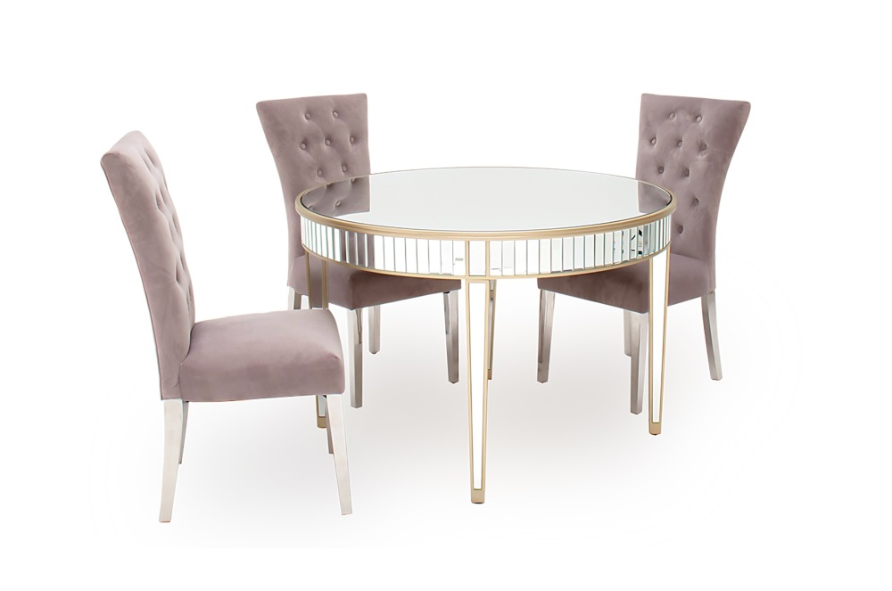 Rosa Round Dining Table 120cm Dia