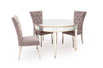 Rosa Round Dining Table 120cm Dia