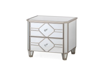 Rosa 2 Draw Bedside Chest 55cm