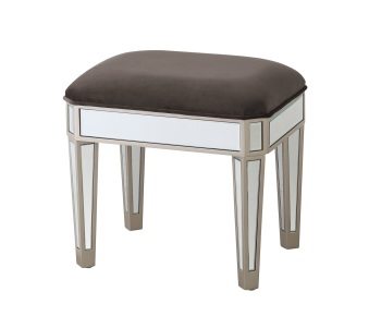 Rosa Mirrored stool