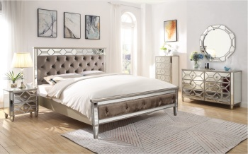 Rosa Bed frame double 4ft 6
