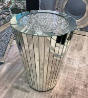 * New Diamond Crush Crystal Sparkle Sphere Lamp Table 66cm in stock