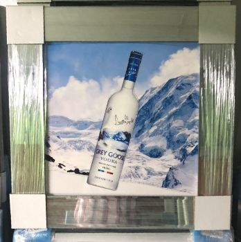 Grey Goose Vodka Saprkle Drinks Wall Art in stock