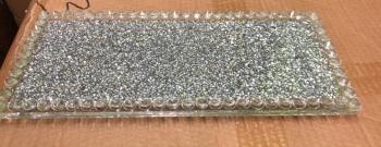 """ New Diamond Crush Tray item in stock (tea coffee sugars jars not included)"