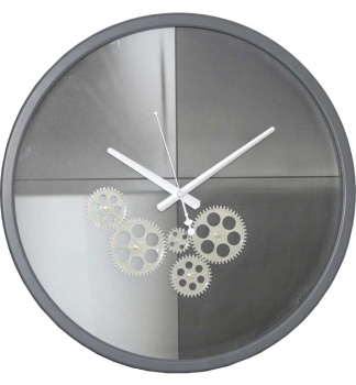 Modern Round Skeleton Clock - 46cm
