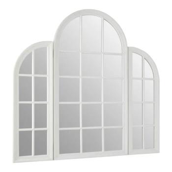 Arched Window White Wall Mirror 150cm x 80cm
