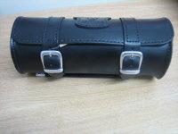 Leather Tool Roll Black made from strong leather 10