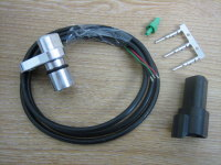 Billet Aluminum Speed Sensor Upgrade Stock Plastic Transmission Sensor . Fits Big Twin Models From 96-06 Harley Davidson