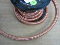 "3/8"" Copper Braided Oil Pipe Sold per Foot £4.00"