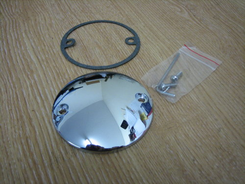 Chrome Points Cover Fits 99-14 Twn Cam Harley Davidson