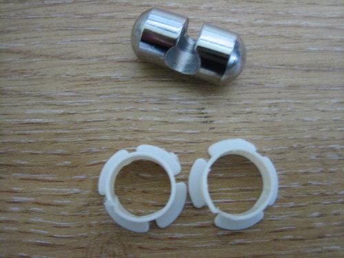 Clutch Cable Pivot Pin & Bush