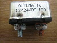 Circuit Breaker 15A repl 74589-73