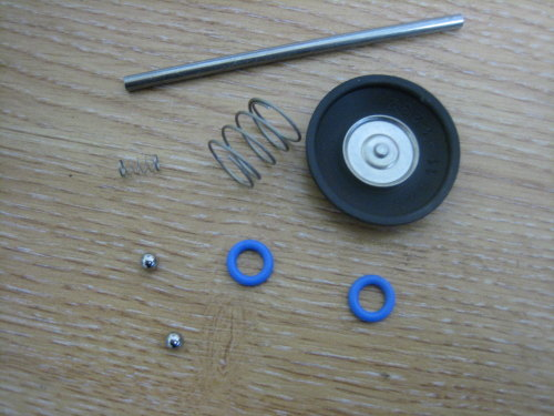 S & S Accelerator Pump Rebuild Kit Fits Super E & G Gas Carb Includes Diaph