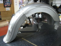 Ridge Rear Fender to replace 37-46 45