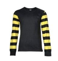 Black & YELLOW STRIPE Longsleeves by King Kerosin