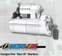 Starter Motor..a quality COMPU-FIRE GEN 3 for your Harley Davidson models 1990 - 2006 ( except Dyna 2006 )