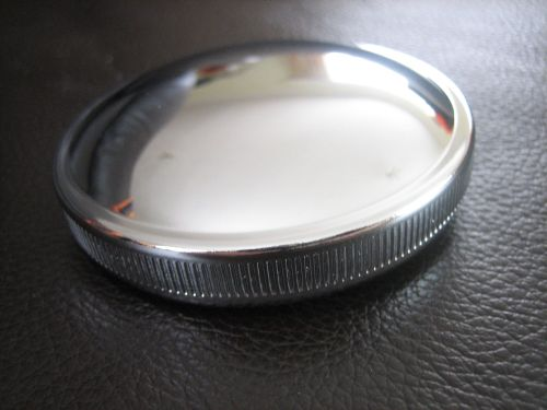 Chrome Early Style Gas Cap None Vented