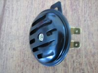 65mm Black Grooved 12V Horn Harley Custom Bobber Cycle Haven