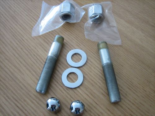 Chrome Shock Stud Kit Fits 4 Speed Big Twin Models 1973-1986