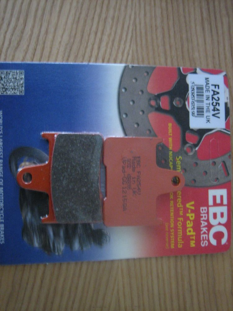 EBC Rear Brake Pads Fits Sportster 2014-up Semi Sintered