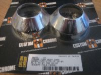 Fork Boot Caps Chrome Fits Showa-Type FX76-85, XL 75-87, FXR 82-87 ( except FXLR, FXRSE) Harley Davidson