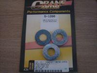 CRANE Valve Spring Shims Fits 1984up Evo, XL, FL, FX 4 Shims of Each .015