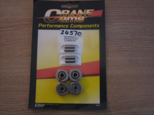 CRANE Cams Tappet Roller Kit Includes Tappet Axles and 4 Roller Bearing Tap