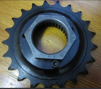 #3 Sportster / BUELL Harley Davidson OEM# 37709-89 21T or BELT to CHAIN  conversion 91up transmission sprocket (33 splines) 14 7mm Total width
