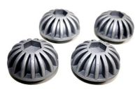 Triumph Webco style Cast custom Starburst Rocker Caps ( Unit Models )