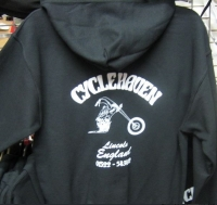 Cycle Haven Hooded Sweat Shirt available in * LARGE *