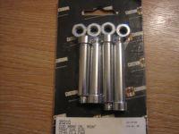 Disc Brake Caliper Mount Front Dual Disc Bolt Kit Set of 4, Fits 77-83 FX, FXR, FXWG & XL Harley Davidson