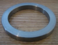 Chain Conversion Sprocket Nut SPACER ( 6mm WIDTH ) for EXTRA OFFSET or to clear exposed spline on 1990up Harley Davidson