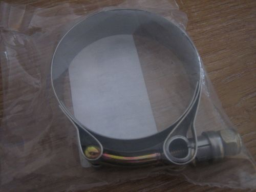 S & S Intake Clamp Stainless Steel Fits L78-84 Big Twin, L78-85 XL Harley D