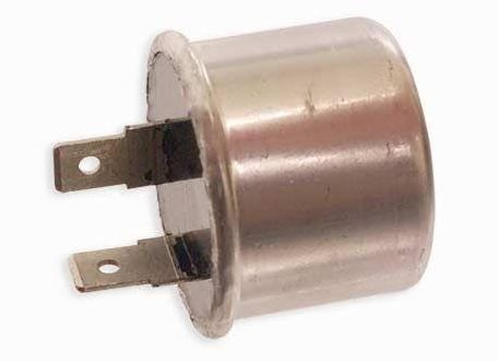 Indicator / Flasher can 12 volt 2 pin replaces Harley 68541-64B