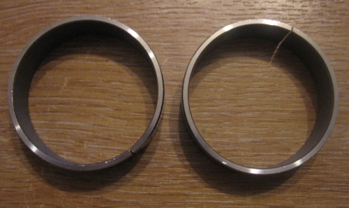 Fork Bushing Upper 160172 x 1 pair with Teflon Coating for 41mm Fits Harley