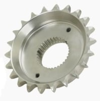 36.06mm Total Width (24T) Sprocket to convert Harley Davidson 5 Speed Softail, FXR, Dyna, from belt to chain drive & wide tire use.