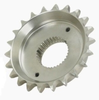 36.07mm TOTAL WIDTH (24T)  33 splined Sprocket to convert to chain drive on Harley Davidson 5 Speed Softail, FXR, Dyna models.
