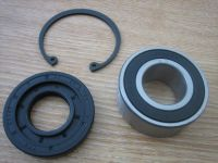 Inner primary sealed one peice bearing & seal & retaing circlip for Harley Davidson 85-06