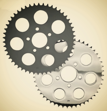 LATE 2000up Rear Sprockets for converting 2000 to present Harley Davidson m
