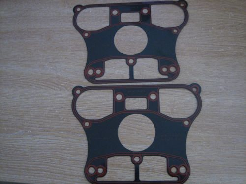 Steel Rocker Gaskets Fits Big Twin Evo / Sportster 1984-99 Harley Davidson